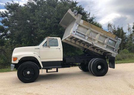 1996 Ford F-800 Dump Truck - 56K