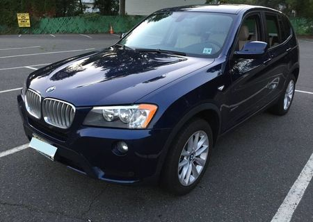 2013 BMW X3 AWD SUV Low Miles - Got Tesla delivered so selling BMW