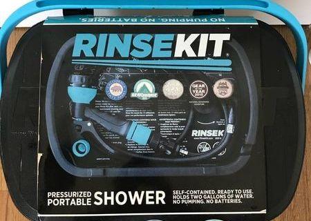RINSEKIT Portable Pressurized Shower