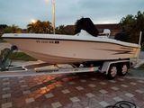 2003 Hydra Sport Bay Boat 19 Yamaha 150