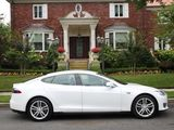 2013 TESLA S 85KWH WHITE/BLACK SUPER MINT CL/CARFAX 1OWN FINANCE TRADE