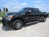 2015 FORD F350 PLATINUM FX4 DIESEL 4WD MOON NAV HEATED/COOLED 20'S 1 OWNER