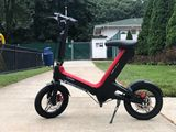 Foldable Electric Bike / Scooter With Seat